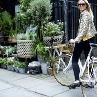 Blomster, forår, cykling, Batavus