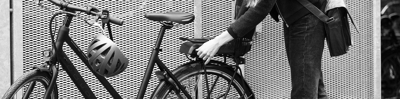 Kort over ladestationer til el-cykel